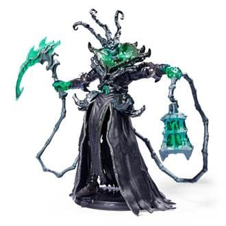 The figure for Thresh, a Champion from Riot Games' famed game League of Legends. Masterfully produced by Spin Master, this figure is available for preorder at Target.