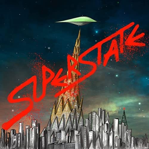 Listen To Blur's Graham Coxon New Graphic Novel, Superstate