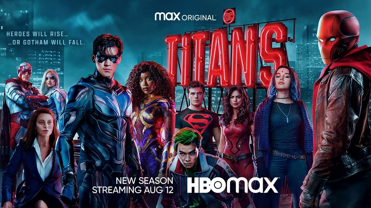 Titans Season 3 Poster Key Art: Heroes Will Rise to Stop Gotham's Fall