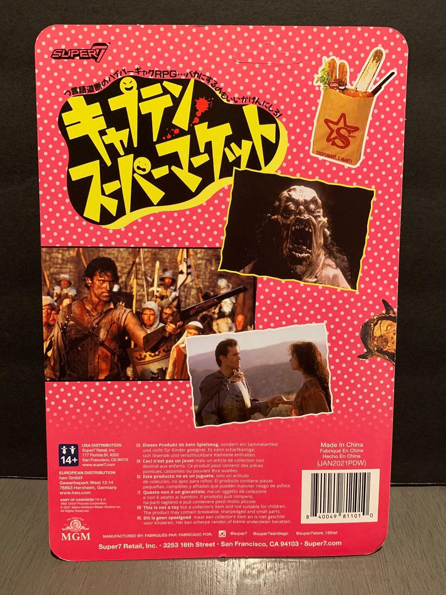 Super7 Exclusive Godzilla, Evil Dead ReAction Figures Are Such A Joy