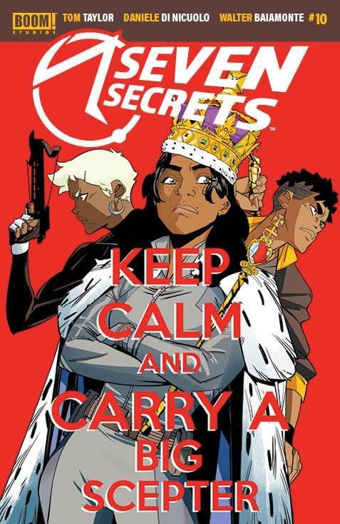 Cover image for SEVEN SECRETS #10 CVR A DI NICUOLO