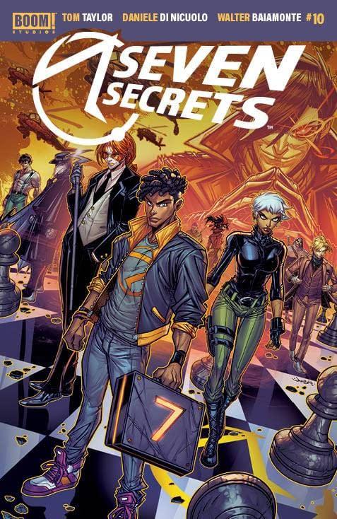 Cover image for SEVEN SECRETS #10 CVR B MEYERS
