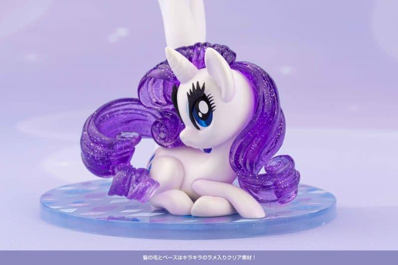 My Little Pony Rarity Gets An Kotobukiya Bishoujo Upgrade