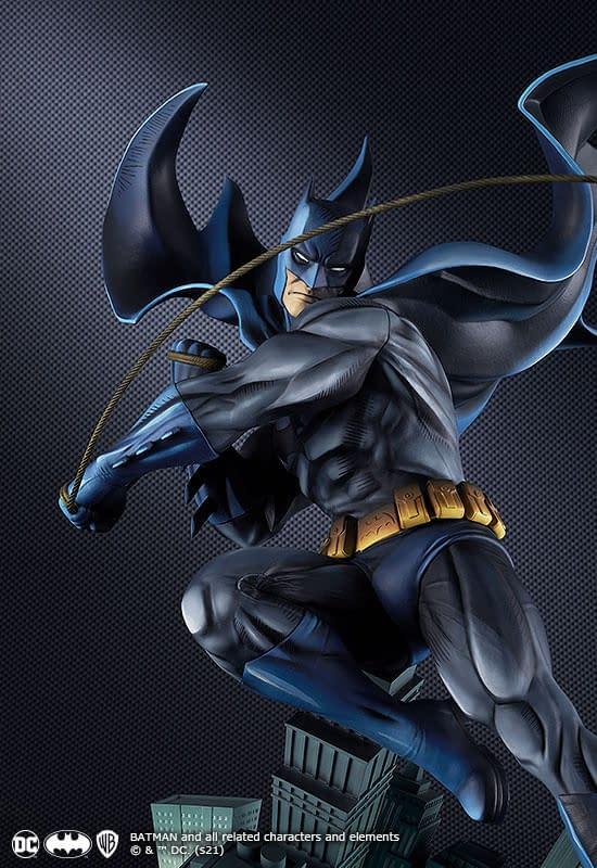 Good Smile Company Reveals New Batman Art Respect Statue