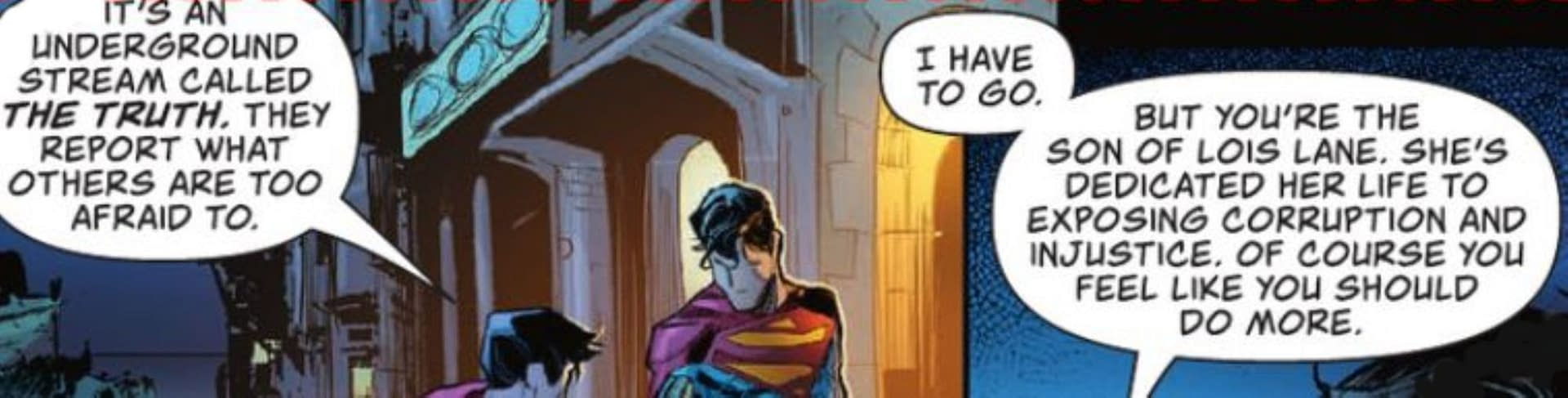 Superman's Son Stands For Truth, Justice, Not The American Way (Spoilers)