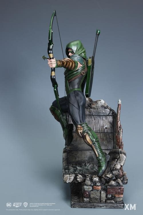 Green Arrow Shows Off His Archery Skills With XM Studios Statue