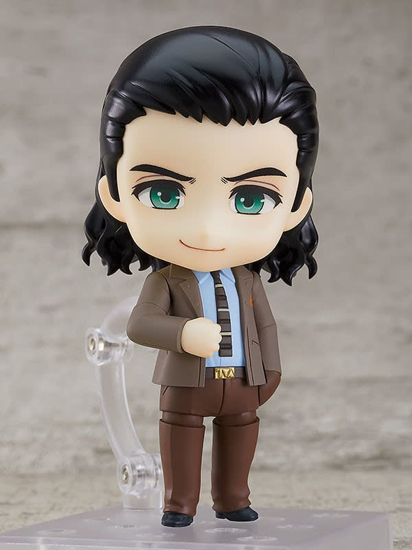 Loki is Ready For Some TVA Mischief With His New Good Smile Figure