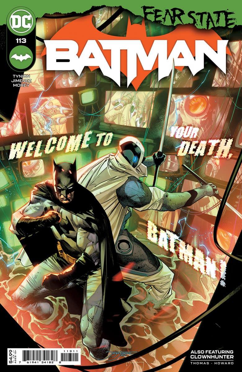 Cover image for BATMAN #113 CVR A JORGE JIMENEZ (FEAR STATE)