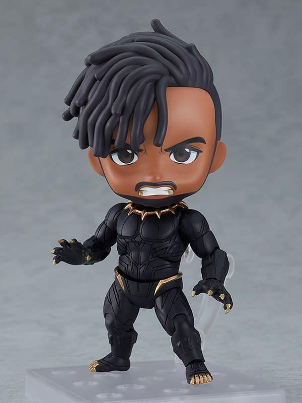 Black Panther Erik Killmonger Nendoroid Revealed by Good Smile
