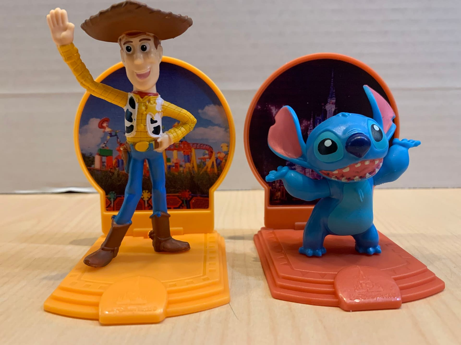 Disney Parks 50th Anniversary McDonald's Happy Meal Toys Are Here