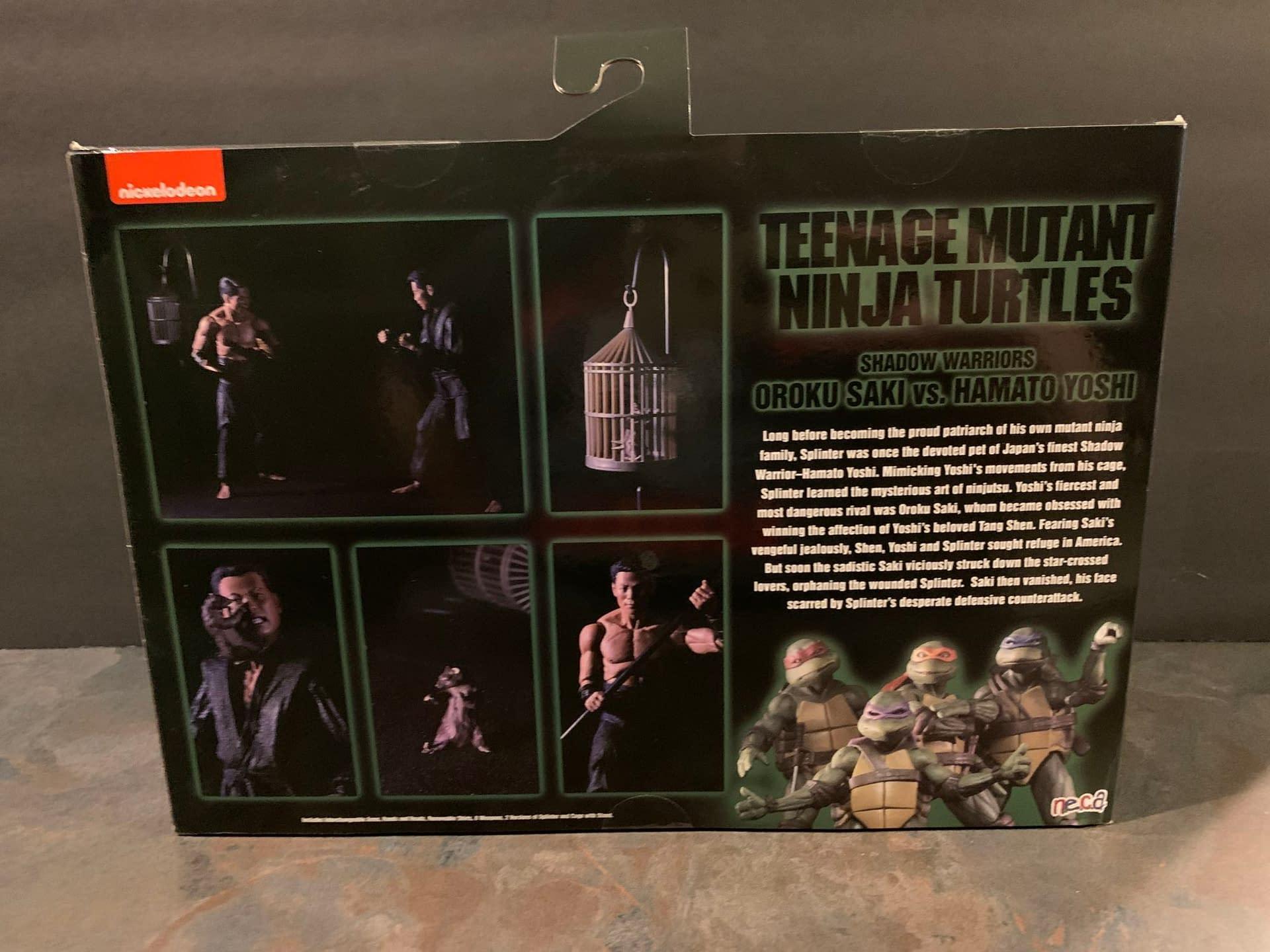 NECA's Latest Addition To TMNT Movie Line Is Interesting