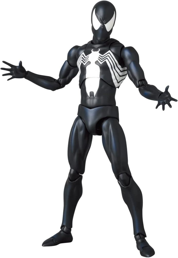 Symbiote Spider-Man Return with New MAFEX Marvel Comics Figure