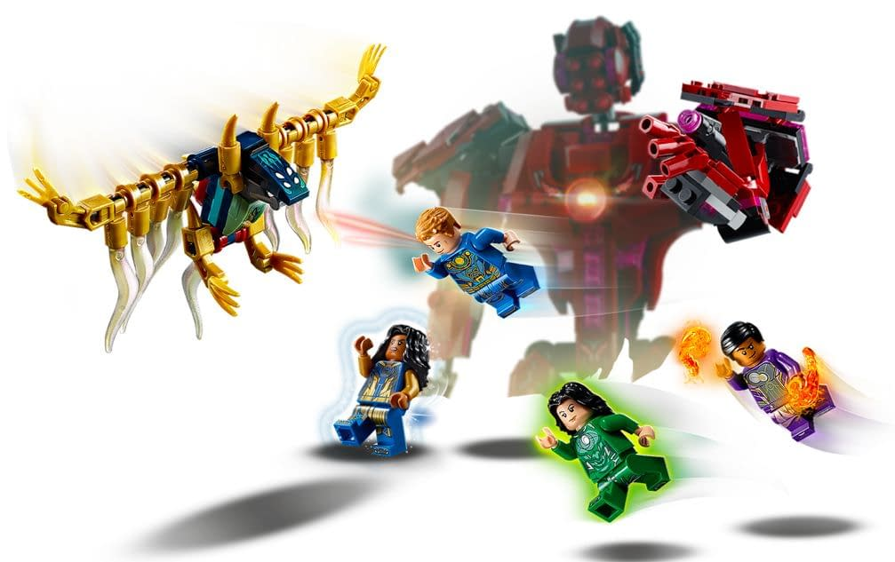 The Eternals Fans Can Build the Celestial Arishem with LEGO