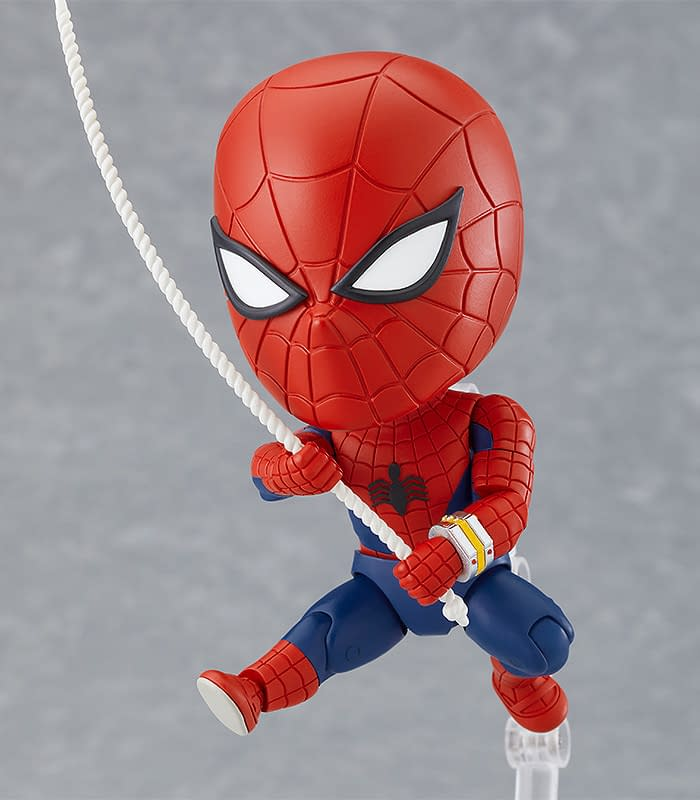 Japanese Spider-Man and Leopardon Arrive at Good Smile Company