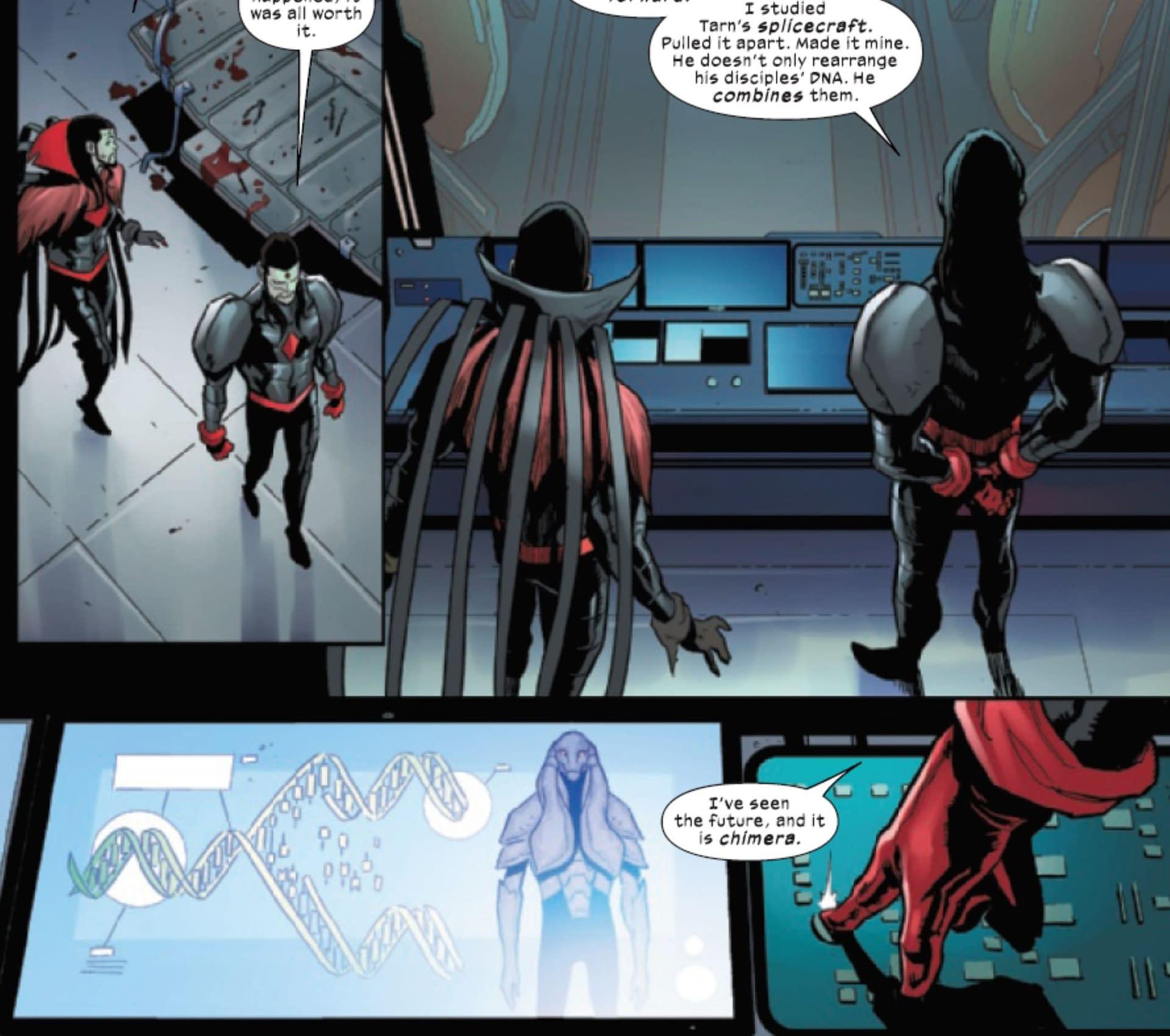 Time For Mr Sinister To Create Krakoan Chimera (Hellions #15 Spoilers)