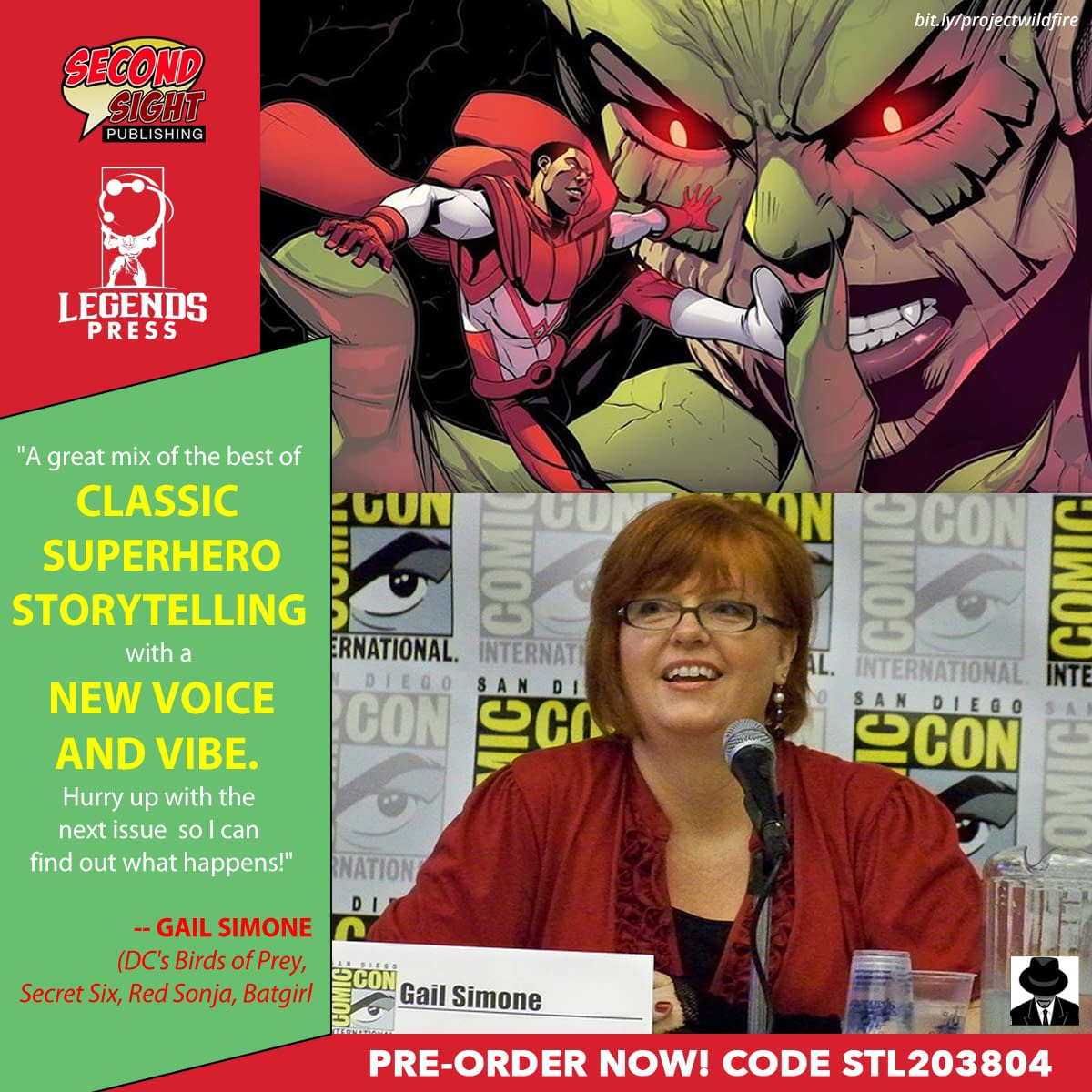 Gail Simone on Project Wildfire