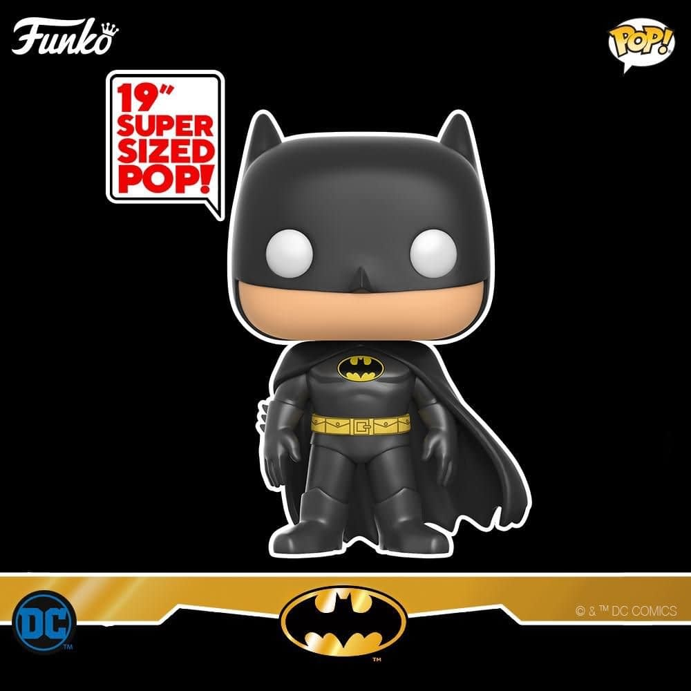 Funko Pop Batman Characters Arise and One is 19 Inches!