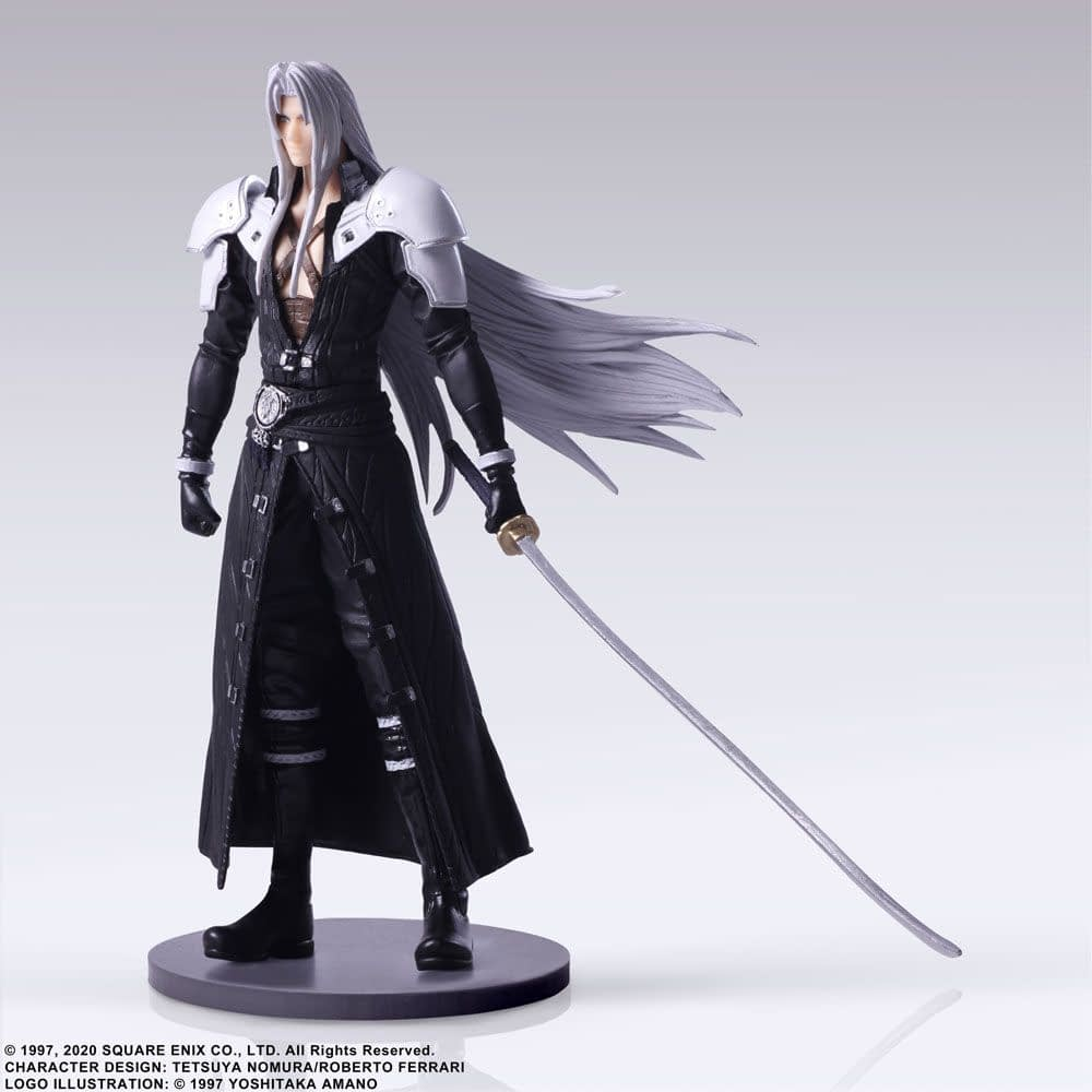 Final Fantasy VII Remake Figures by Square Enix Coming Soon