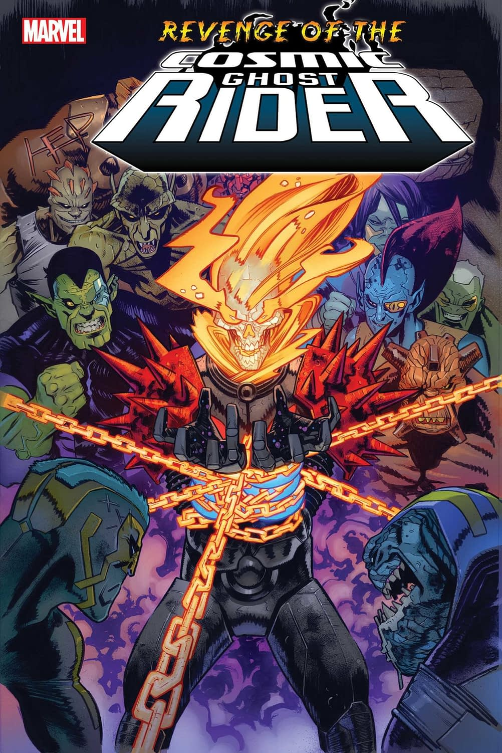 Marvel Puts the Cosmic Ghost Rider in Chains For New Revenge