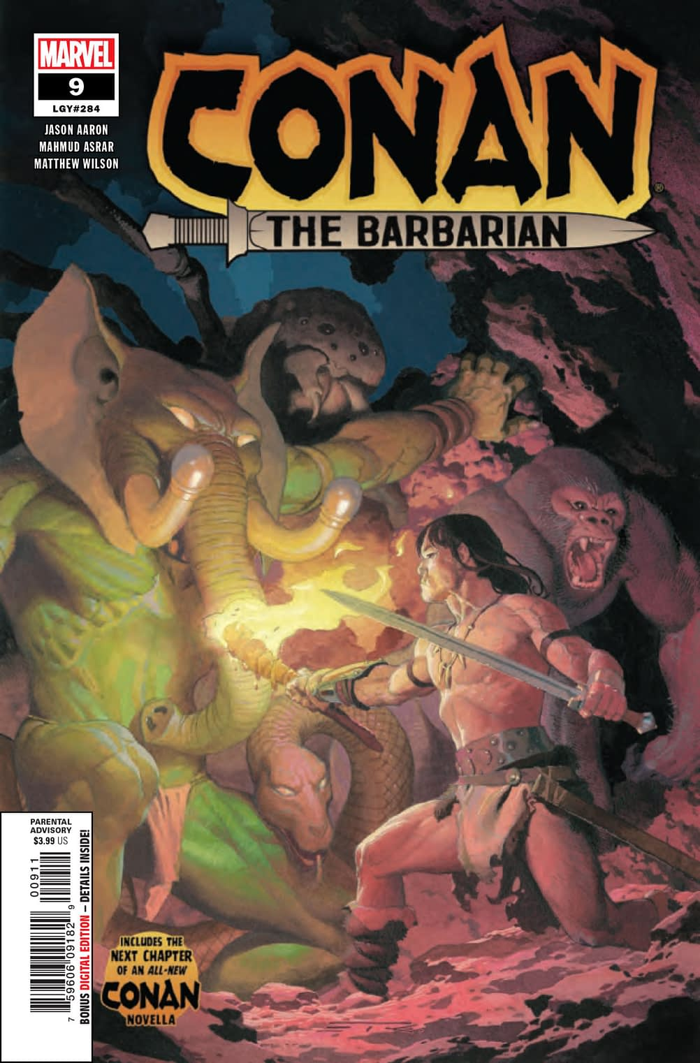 Conan Learns the Ways of Death in the Marvel Universe in