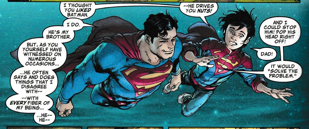 Superman Shares His Plan to Kill Batman With Superboy