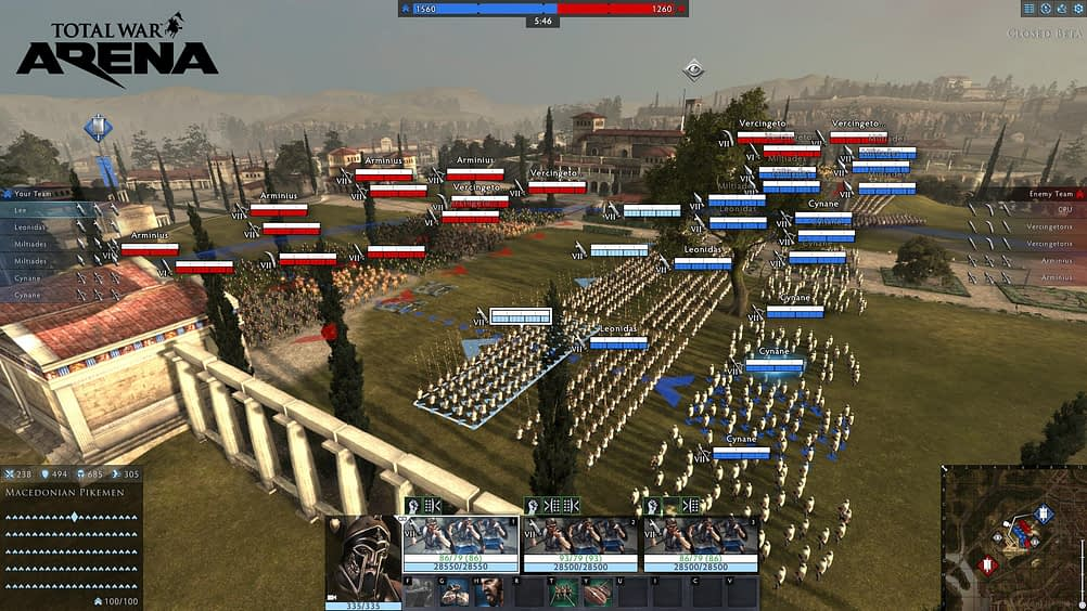 Creative Assembly is Shutting Down Total War: Arena in February