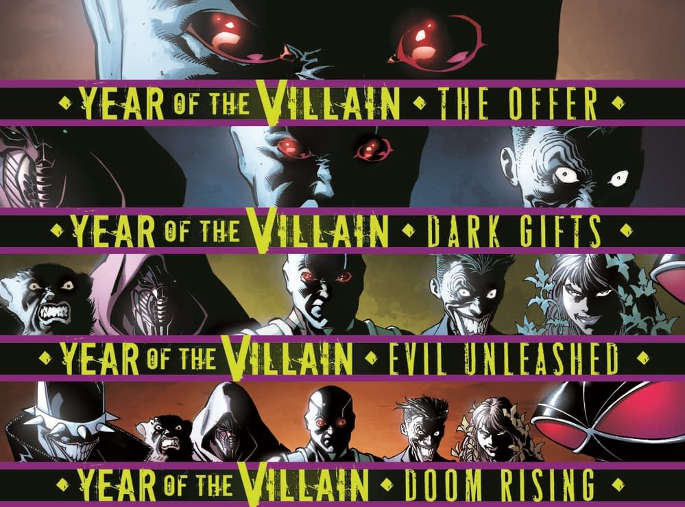 Which Titles Tie-In With DC's Year Of The Villain and How