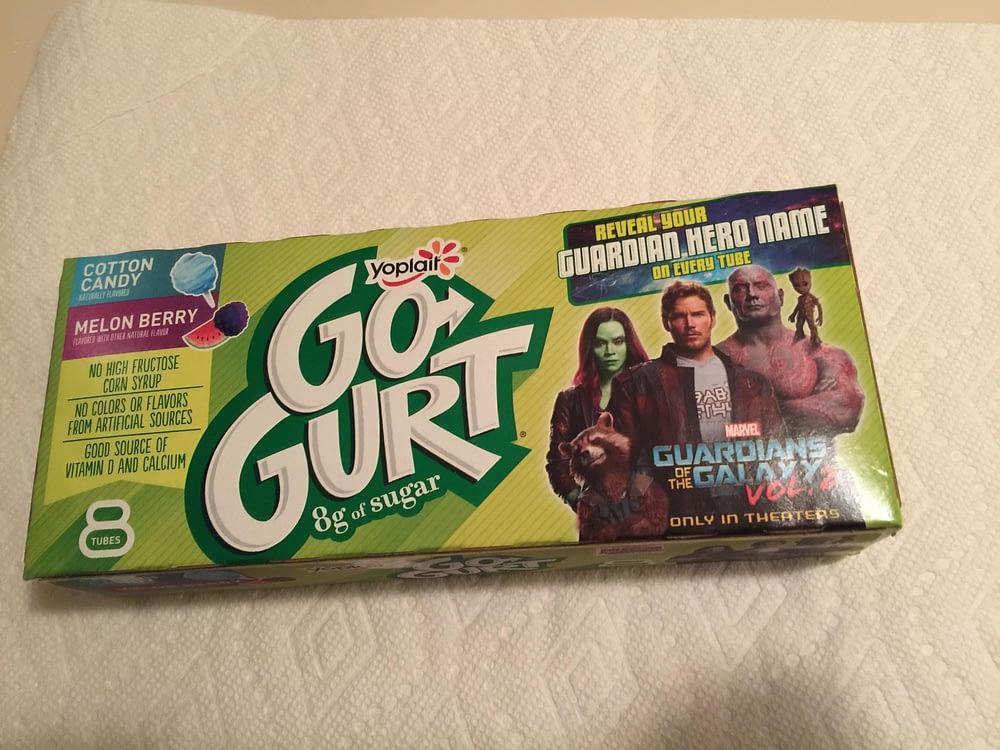 Nerd Food: Guardians Of The Galaxy GoGurt Is A Gooey