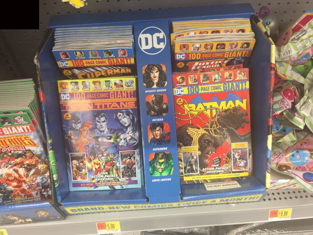 Sixth Issues of DC Giant Size 100-Page Walmart Comics Hit ...