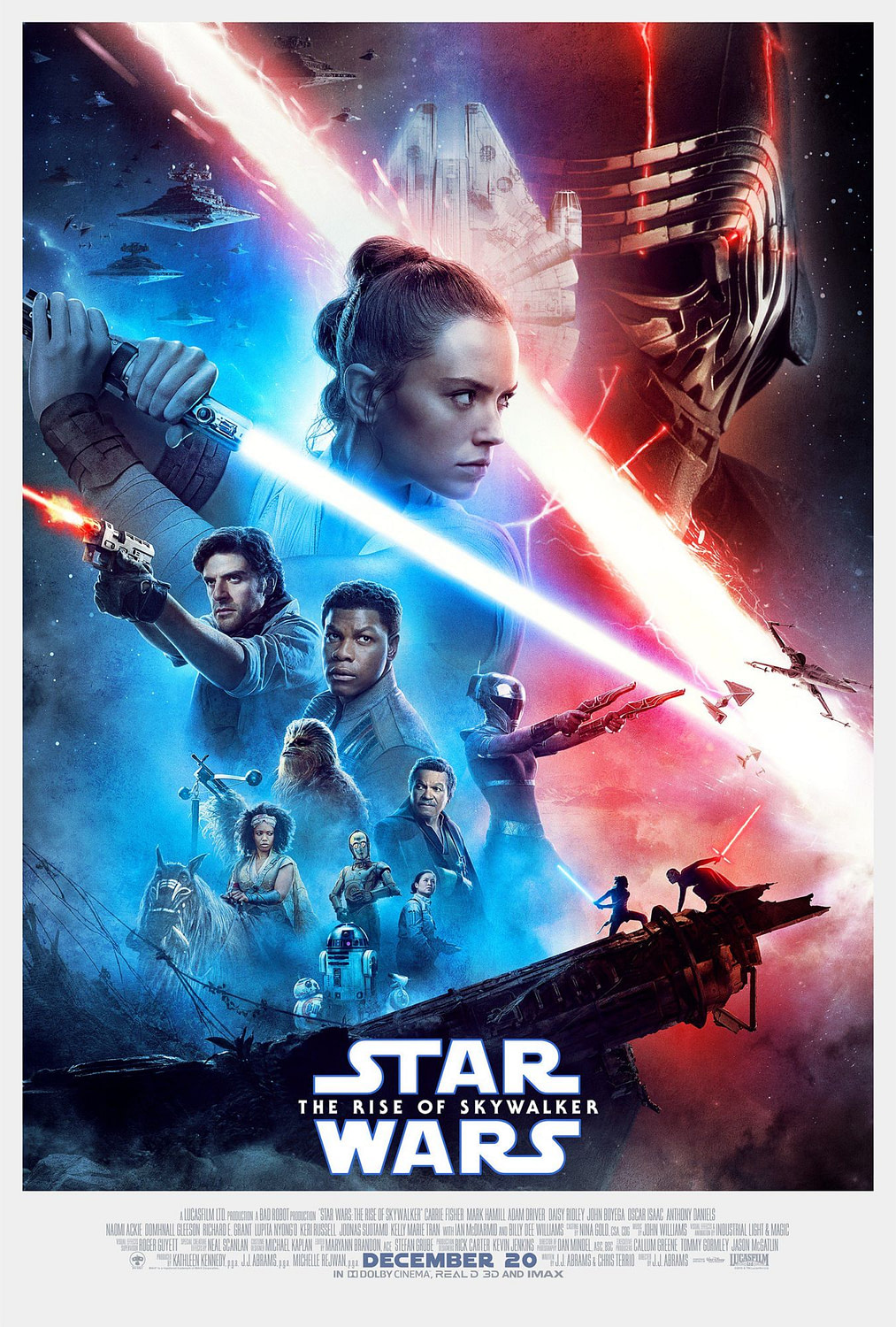 """The Final Trailer and Poster for """"Star Wars: The Rise of Skywalker"""" Drops"""
