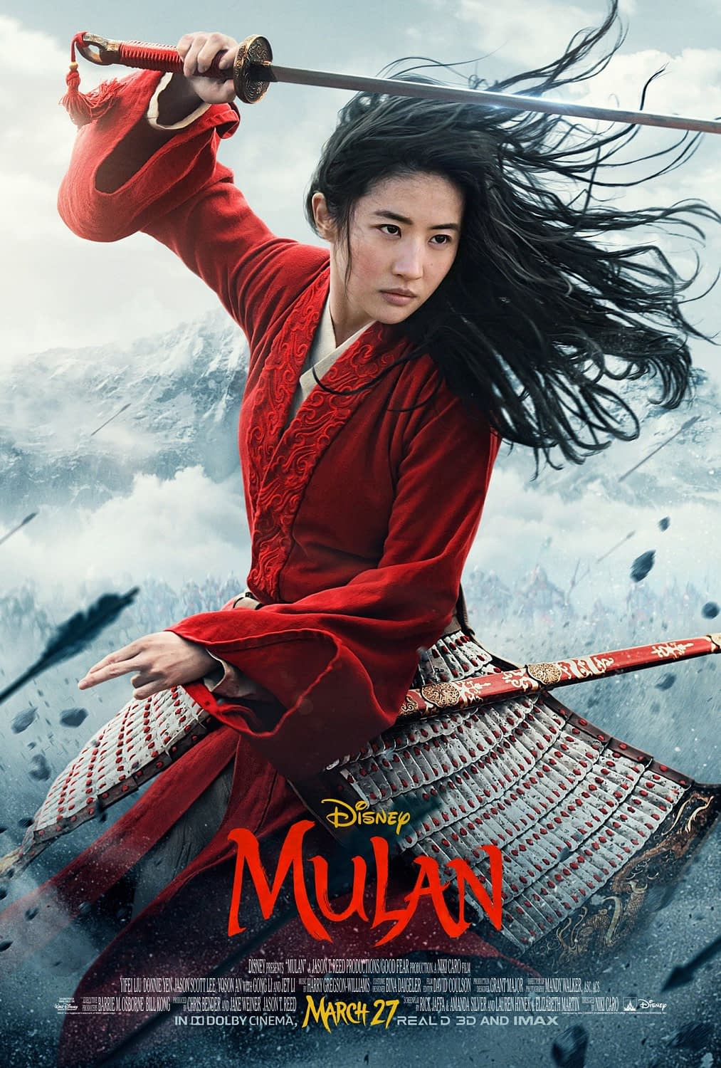 """New Poster for """"Mulan"""" Ahead of a New Trailer Dropping Tomorrow"""