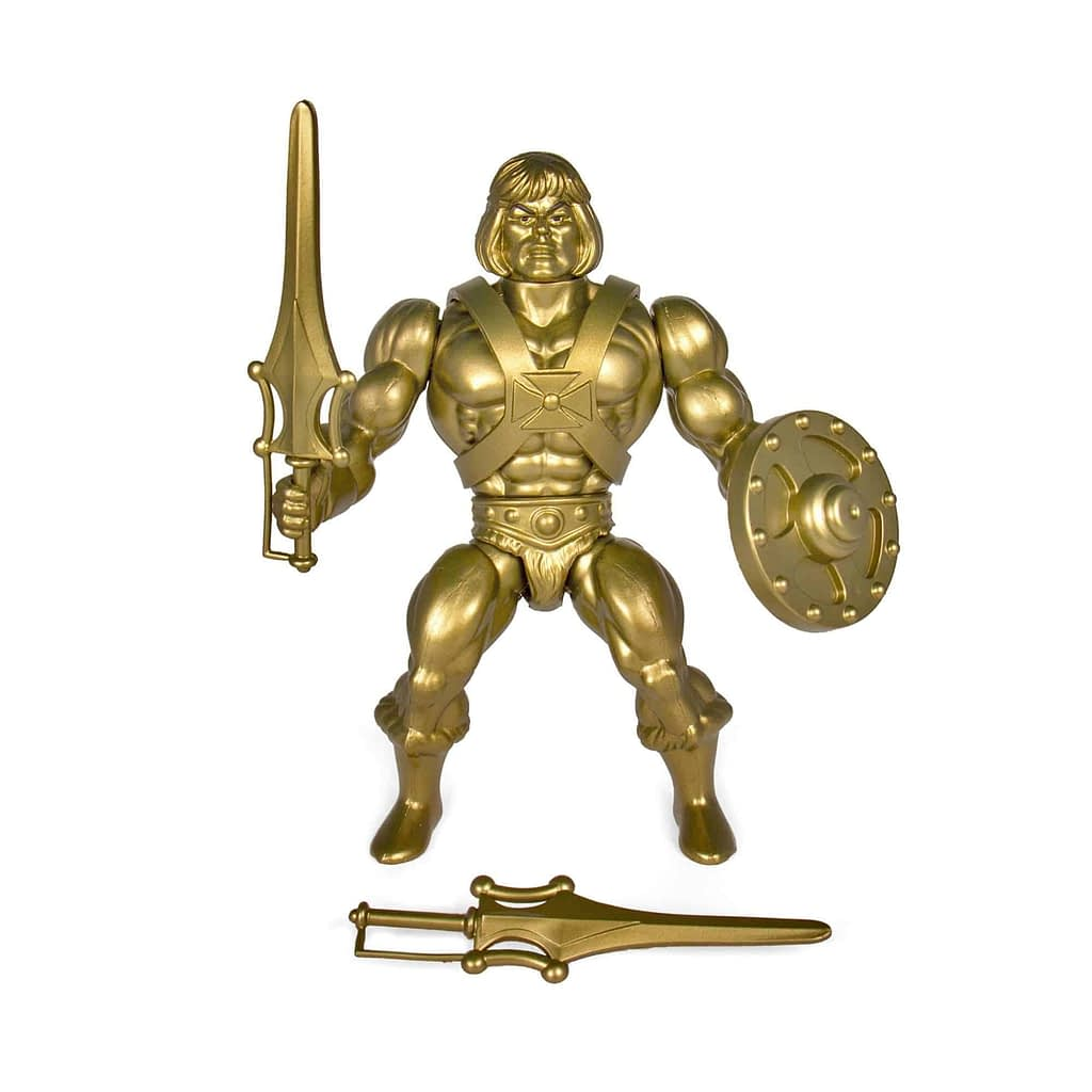Masters of the Universe Vintge Golden Statue He-Man