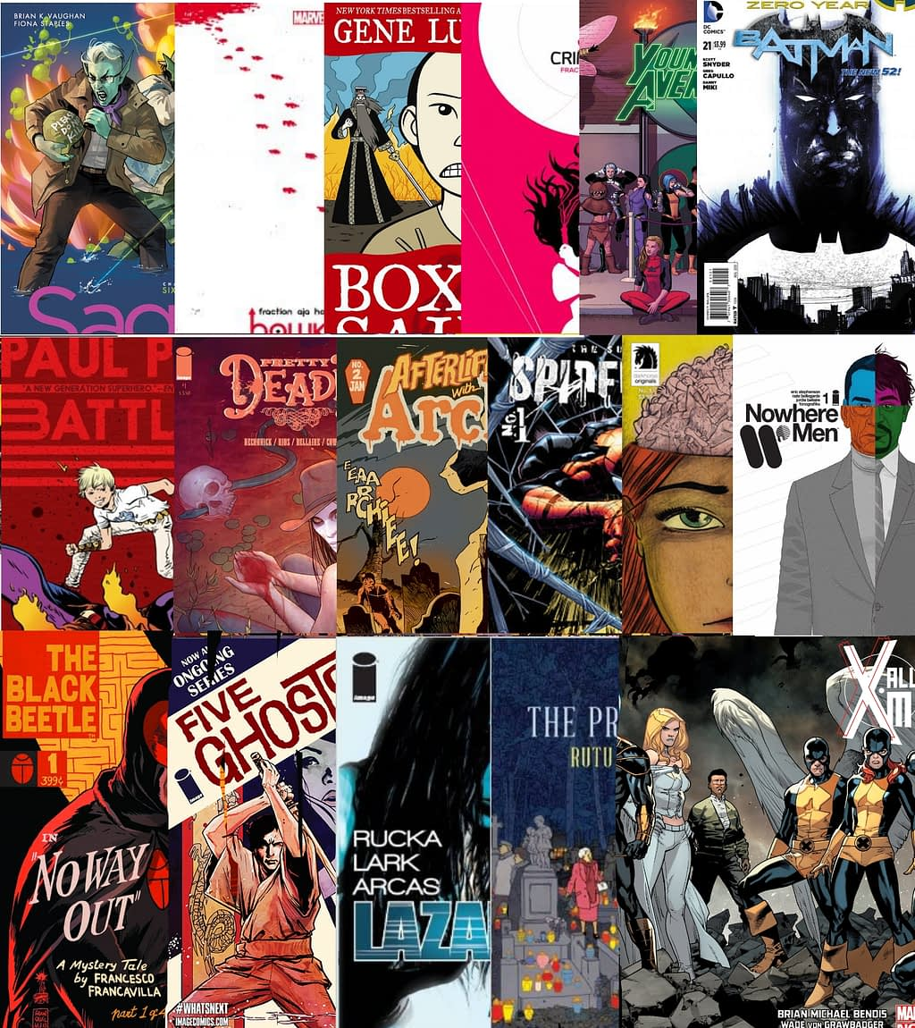 best comics of 2013