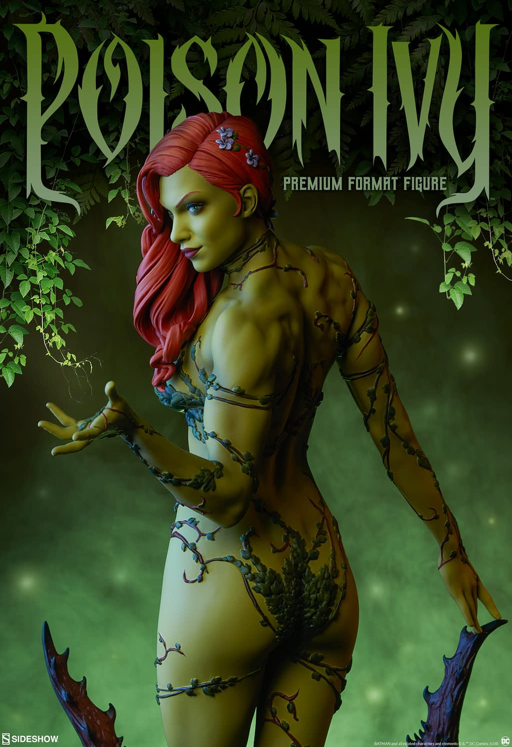 Poison Ivy Premium Format Figure From Sideshow Collectibles Reveal Image