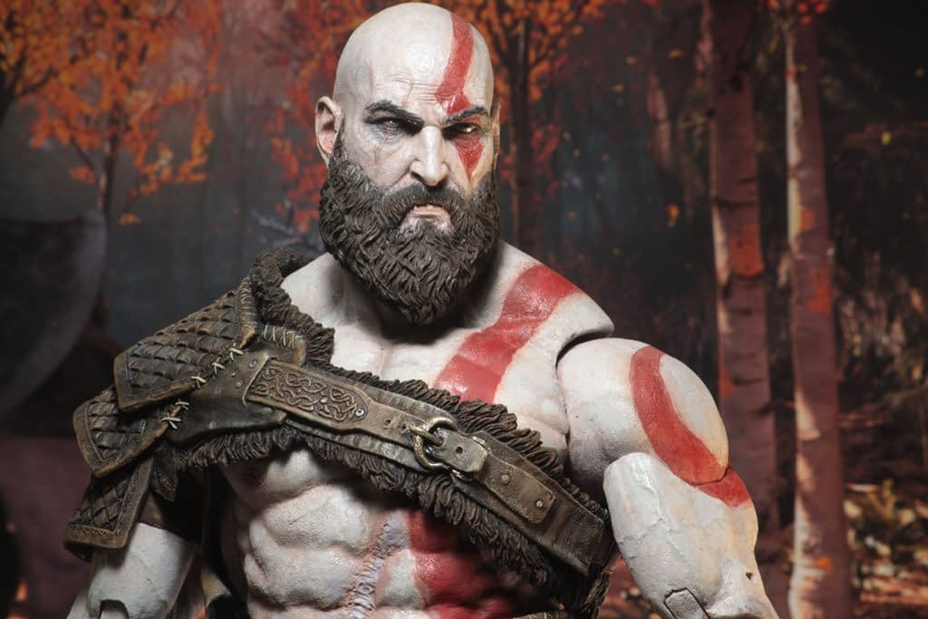 NECA God of War Kratos 4