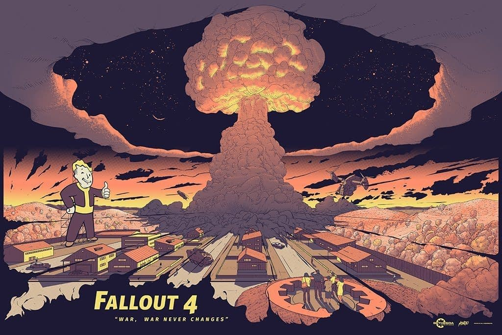 Mondo Fallout 4 E3 Poster 2