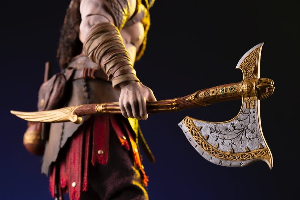 God of War Bad@$$ Kratos Gets a 1/6th Scale Figure From Mondo