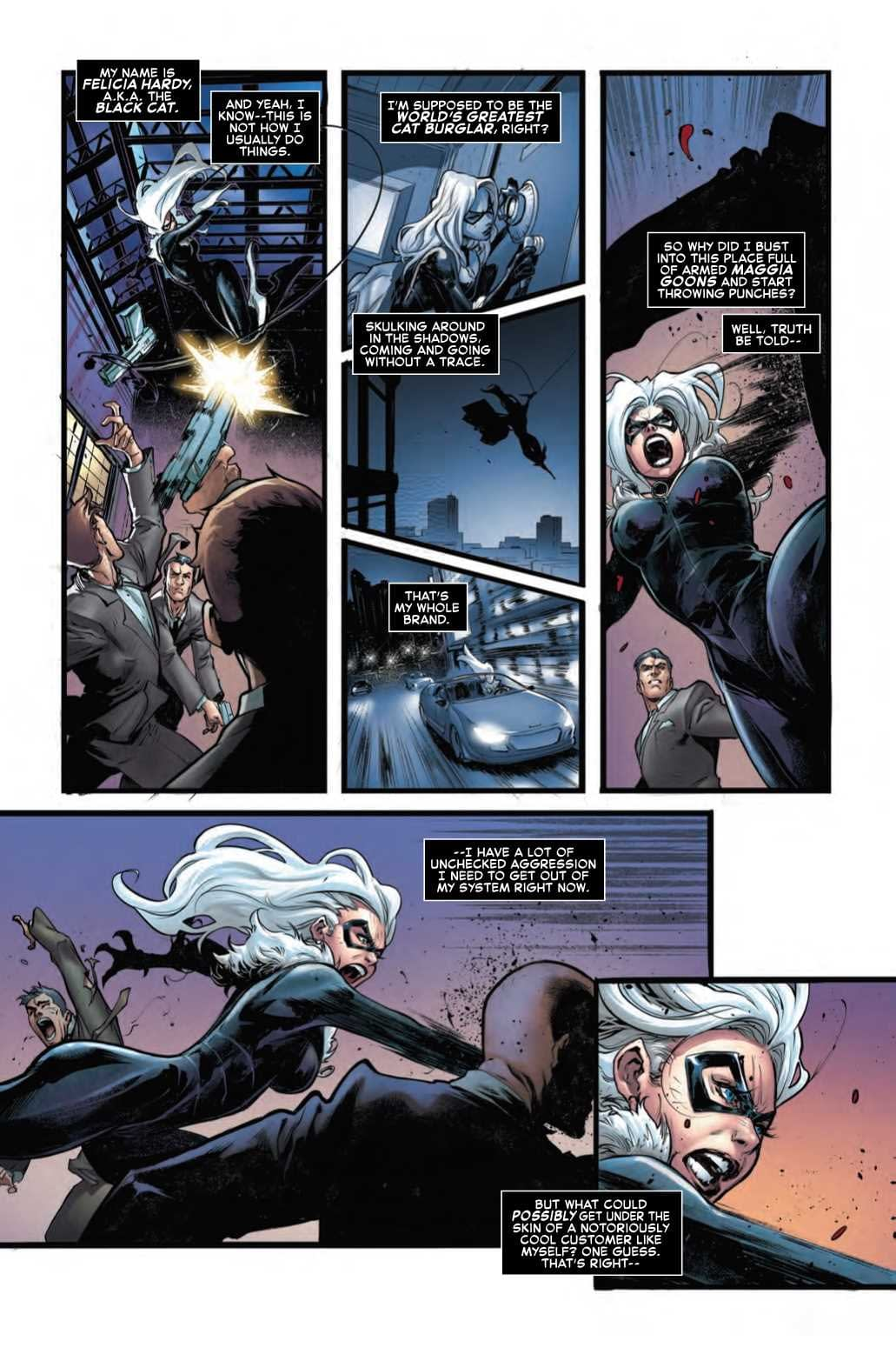 Black Cat Having Sex Dreams About Spider-Man in Next Week's Amazing