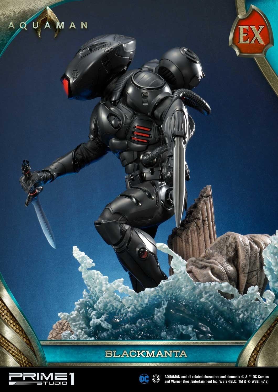 Aquaman Black Manta Prime 1 Studio Statue 16