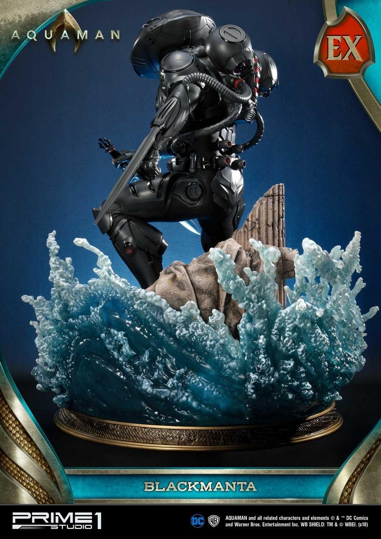 Aquaman Black Manta Prime 1 Studio Statue 17
