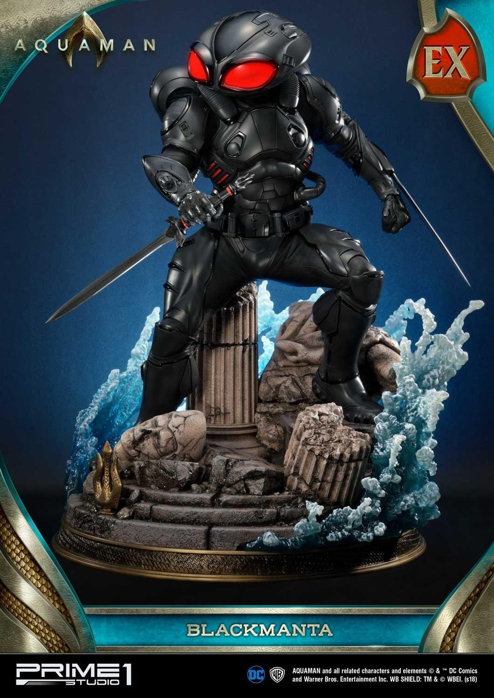 Aquaman Black Manta Prime 1 Studio Statue 6