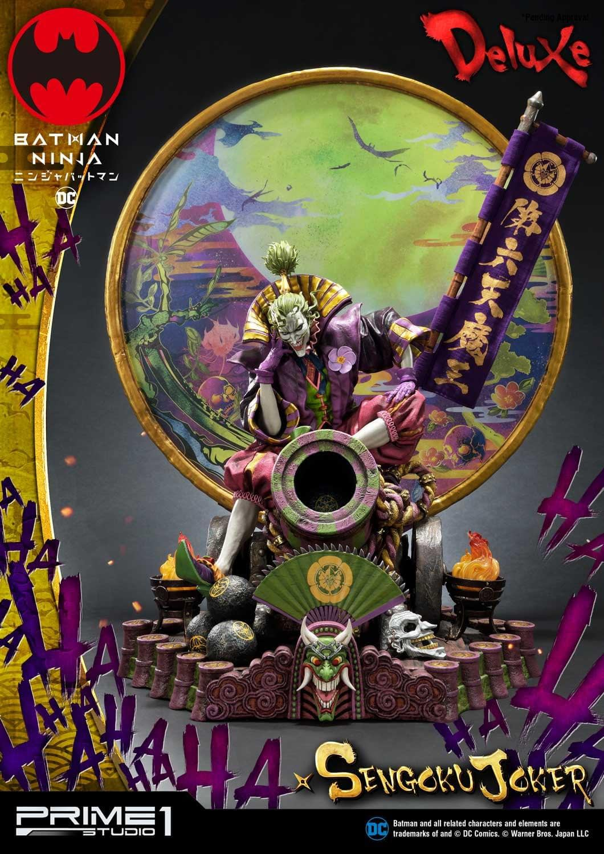 """Batman: Ninja"" Sengoku Joker Statue Prime 1 Studios Unveiled"