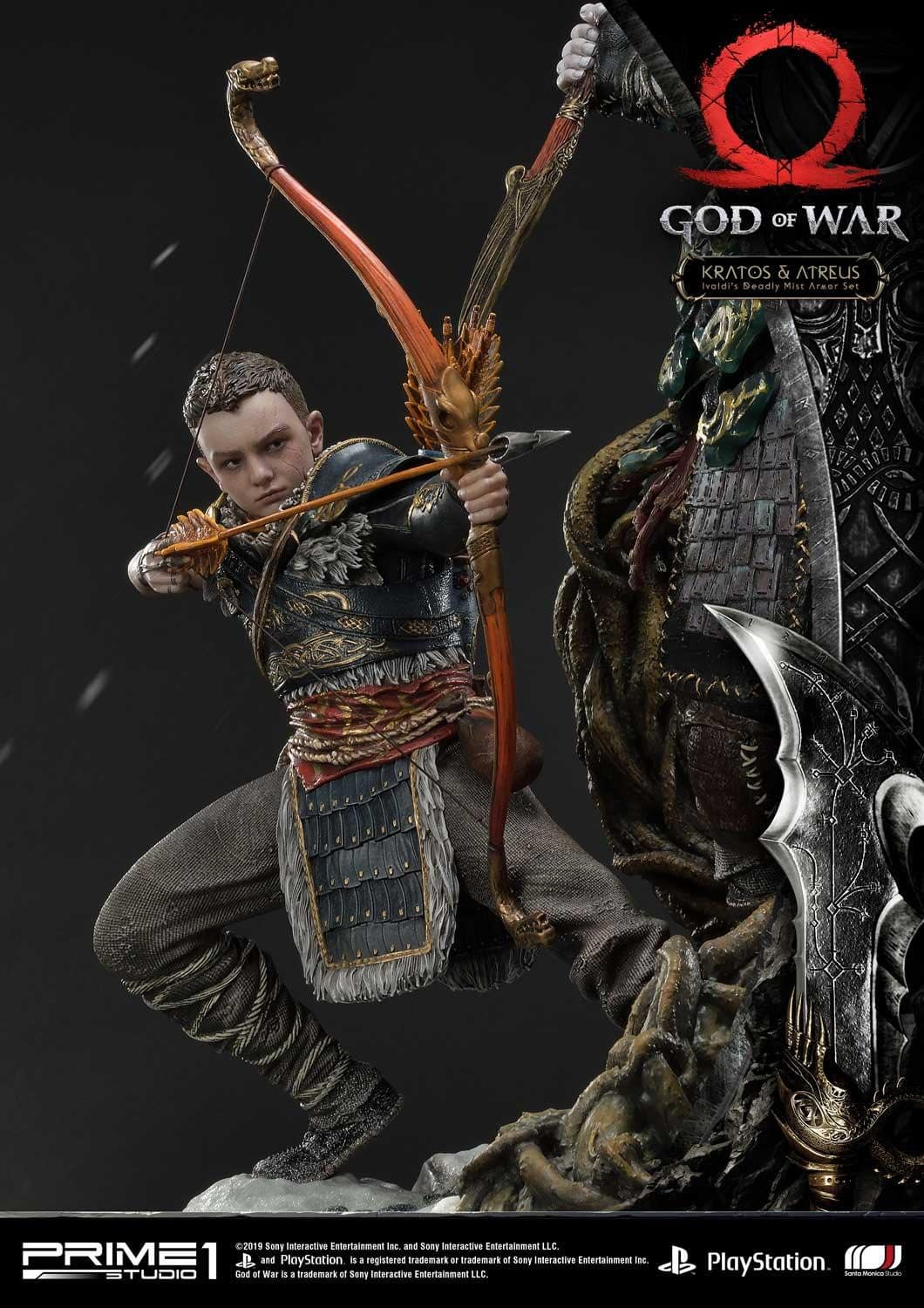 Own Ivaldi S Deadly Mist Armor With The New God Of War Statue