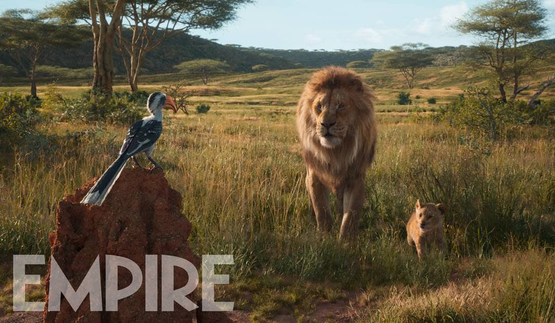 "New Image from ""The Lion King"" and Bringing Back James Earl Jones"