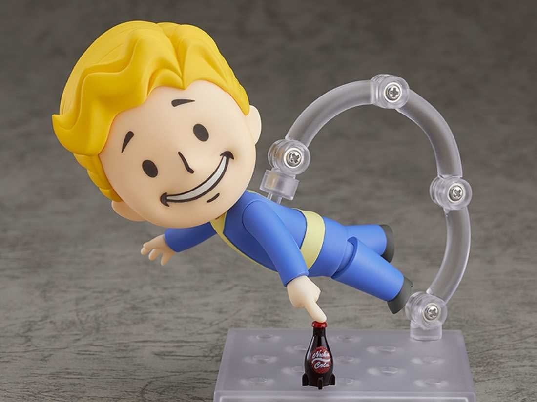 """Leave the Vault with """"Fallout"""" Vault Boy from Good Smile Company"""