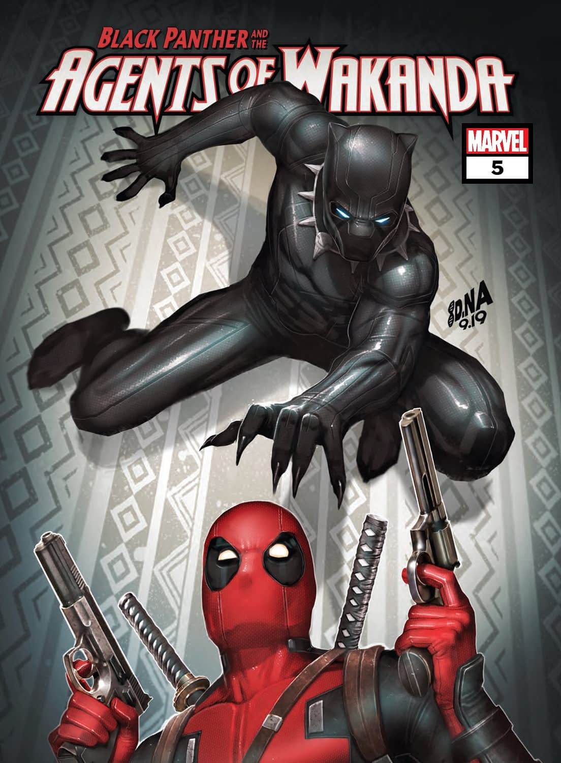 """REVIEW: Black Panther And The Agents Of Wakanda #5 -- """"This Very Fun Issue Makes All The Right Moves"""""""
