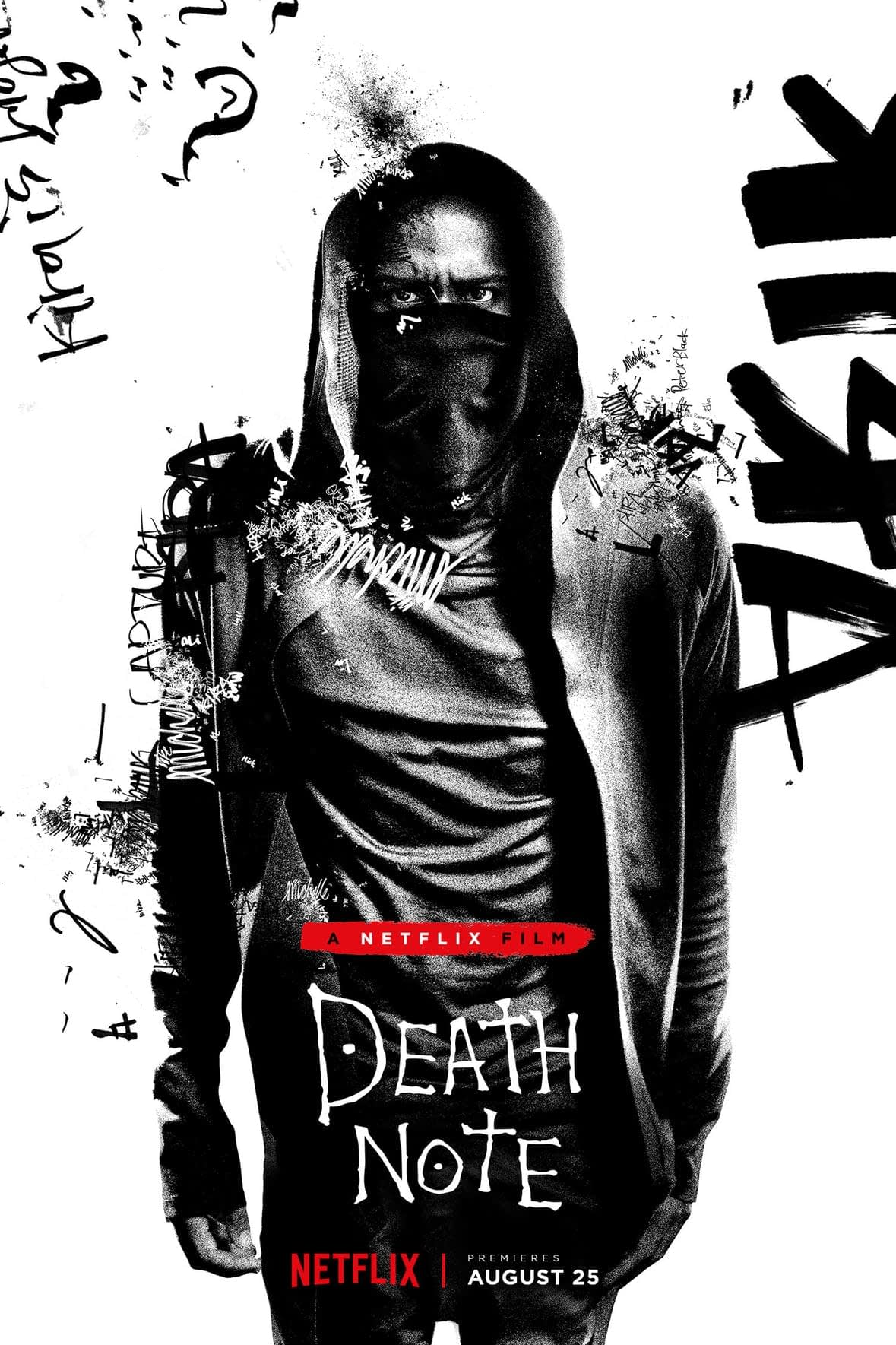 L and Light Get Character Posters For Netflix's 'Death Note'