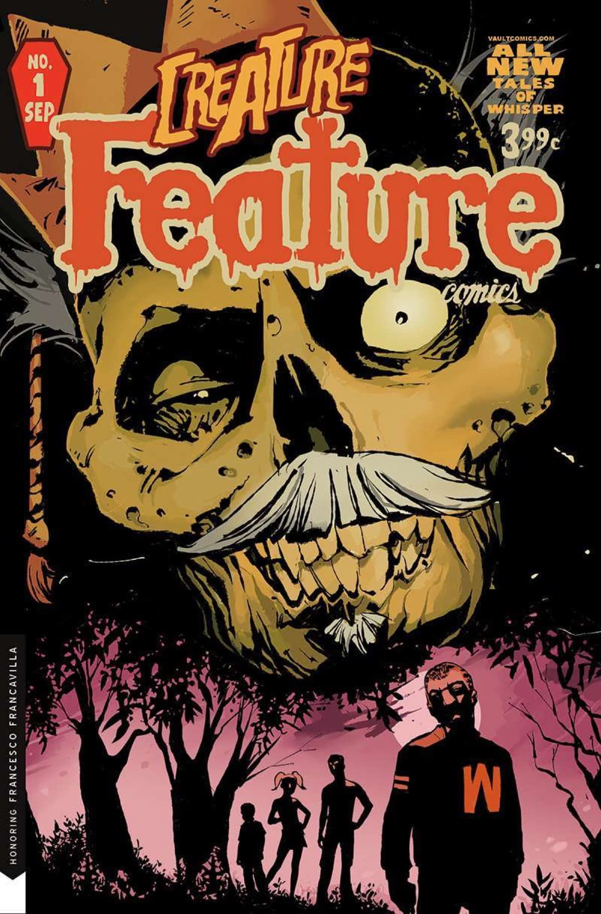 Creature Feature: Vault Comics Follows up Cult Classic With New Mini