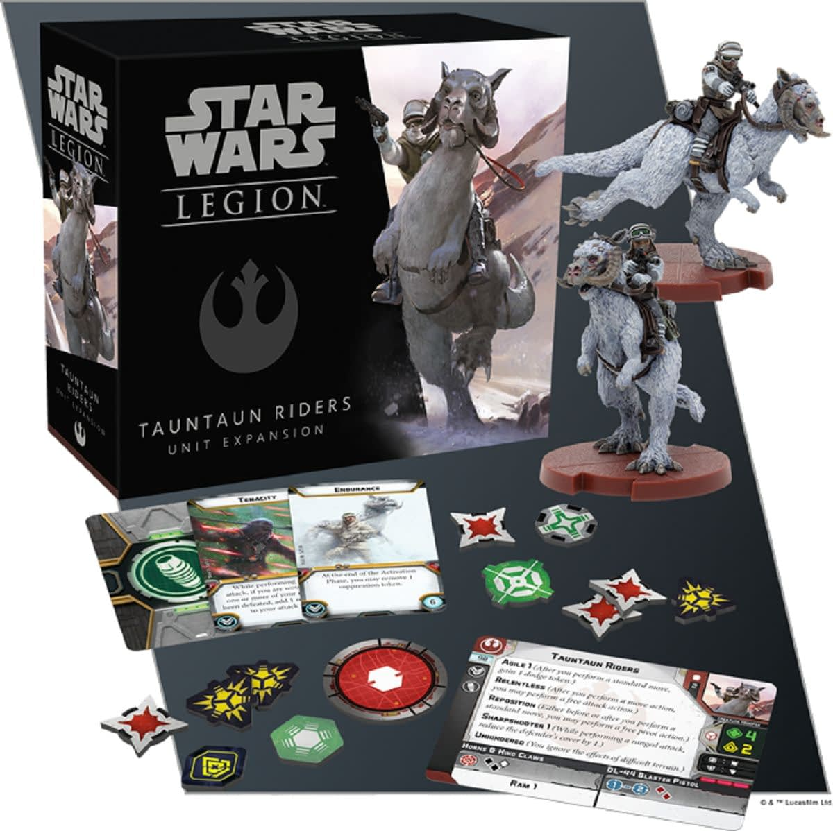 "Tauntaun Riders Charge Into Battle for ""Star Wars: Legion"""