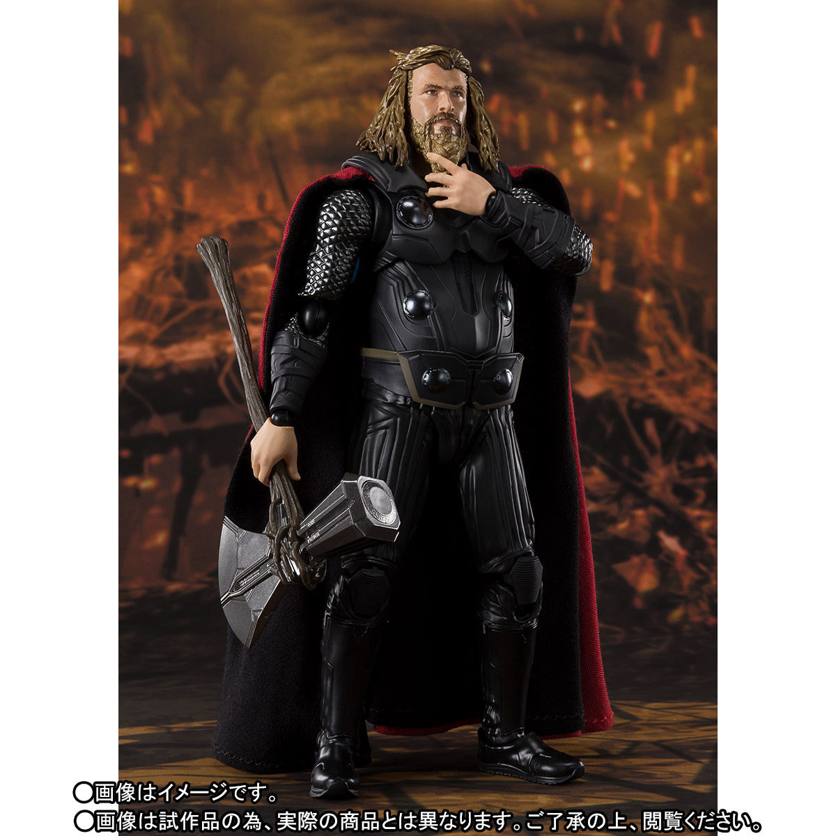 Dude Thor Brings the Thunder and Cheese Whiz with S.H. Figuarts Figure